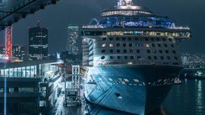 2018〜2019年 神戸港へ「クァンタム・オブ・ザ・シーズ」が入港する予定